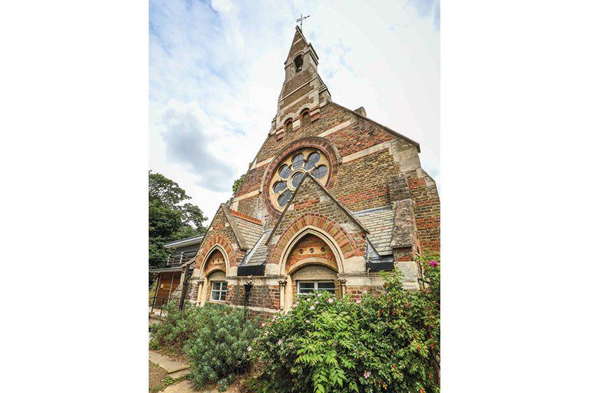 Violet needham chapel in summer