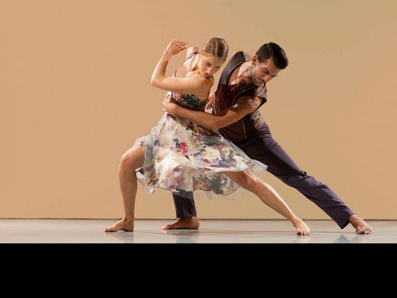 Brahms Hungarian Richard Alston Dance Company