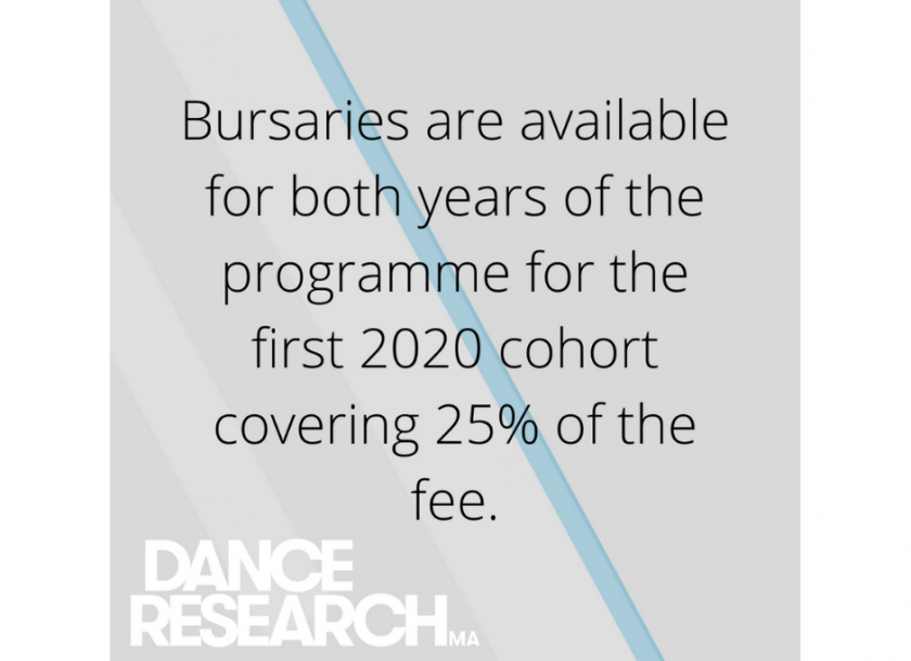 Busaries are available for the 2020 cohort