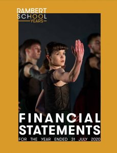 Front cover of report features contemporary trio
